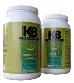 Killer Body Whey Protein Vanilla